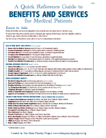 Benefits and Services Guide for Medical Patients