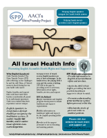 AACI's Shira Pransky Project Flyer