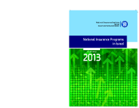 National Insurance Programs in Israel (2013)