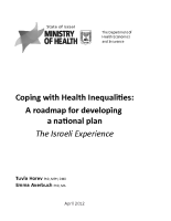 Coping with Health Inequalities: Developing a National Plan (2012)